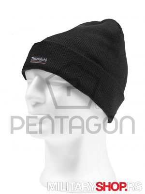 Kapa sa postavom Thinsulate Crna