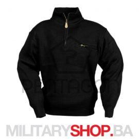 Crni pentagon džemper sa flišanom postavom K08007
