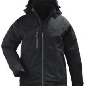 A GEN V vodonepropusna zimska jakna - crna
