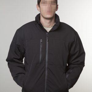 A GEN V takticka vodonepropusna zimska jakna - crna