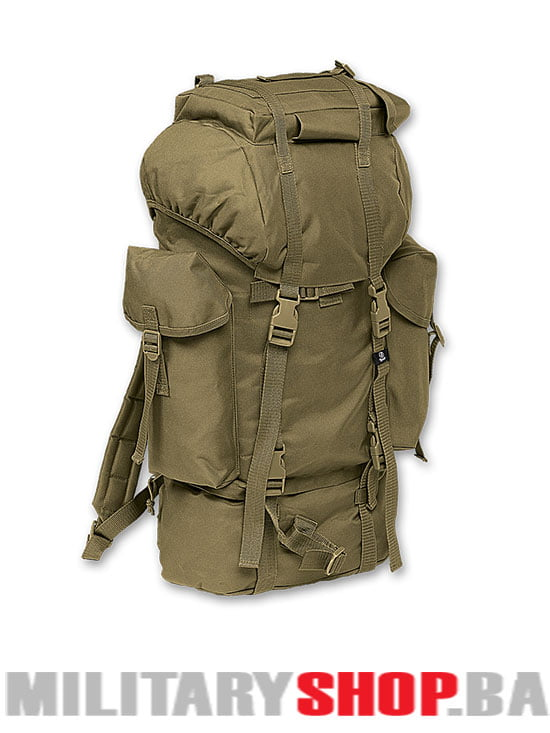 Brandit ranac kamp ruksak - zeleni 65 litara