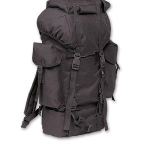 Kamperski ranac 65 L crne boje Brandit je artikal koji moze da se koristi u svim prilikama, na terenu i u gradu. Pogodan za prenos robe i materijala i sl.