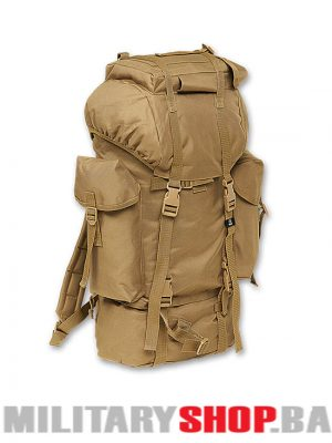 Kamp ruksak za kampovanje Brandit 65 litara camel