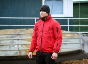 Pentagon jakna Artaxes crvena
