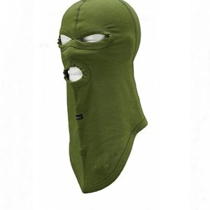 Fantomka zelena Balaklava sa tri otvora Pentagon K14015