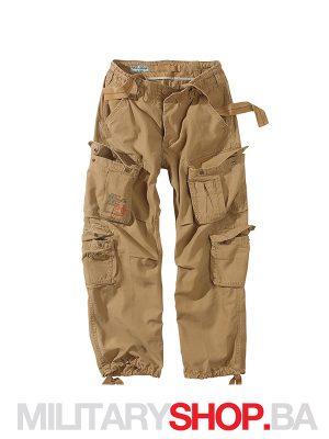 Pantalone 100% pamuk Airborne Surplus kojot