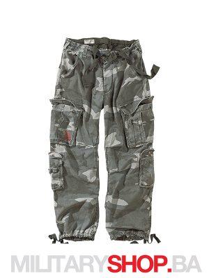 Pantalone maskirne 100% pamuk Airborne Surplus nightcamo