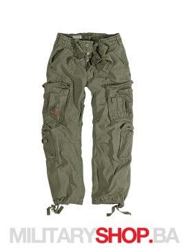 Pantalone 100% pamuk Airborne Surplus olive