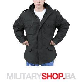 Surplus vojna jakna M65 vijetnamka sa uloškom crne boje