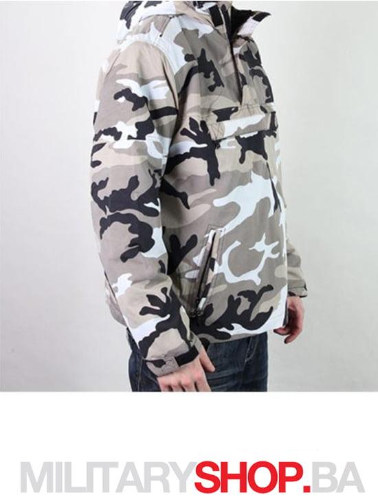 Brandit windstoper windbreaker urban maskirna jakna
