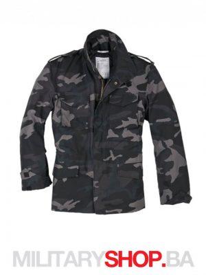 Maskirna jakna sa uloskom M65 Surplus Black camo