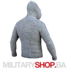 Džemper sa kapuljačom svetlo sivi Assassin