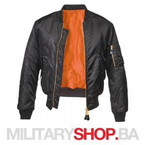 MA1 fajerka jakna crne boje Brandit