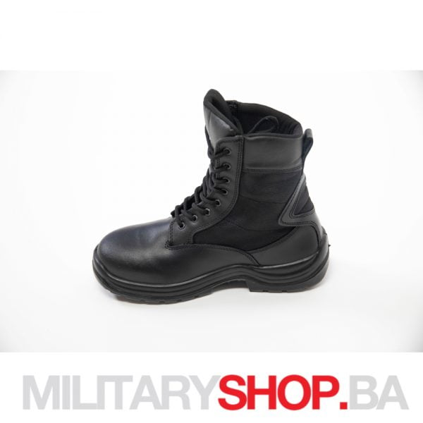 Crne kožne čizme S.I.R.