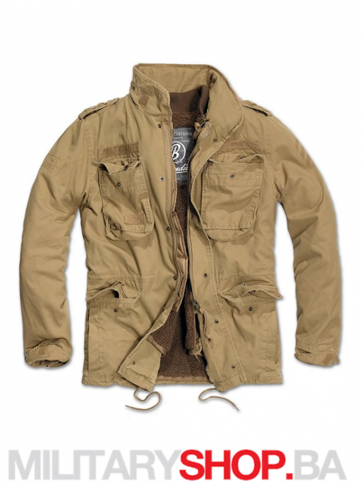 M65 zimska jakna Giant Brandit Camel