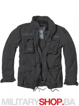 Zimska jakna sa uloškom Giant crna M65 Brandit
