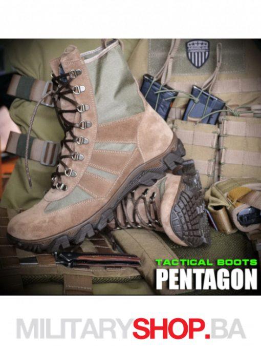 Pustinjske desert čizme Armoline Pentagon Khaki