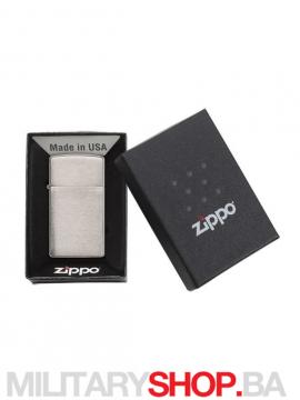 Zippo Slim upaljač brušeni hrom