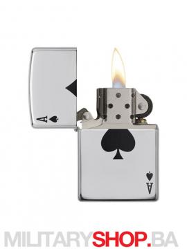 Zippo upaljač As Spade design