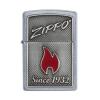 Upaljač Zippo and Flame