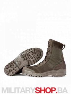 Čizme od prevrnute kože Grom Olive