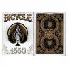 Karte Bicycle 1885 viktorijanski dizajn