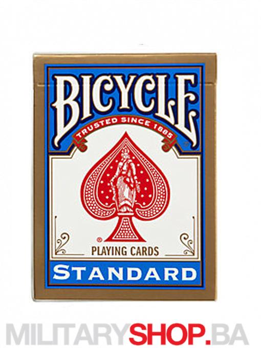 Standardne karte plave boje Bicycle