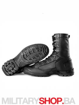 Zimske kožne čizme crne Garsing Air