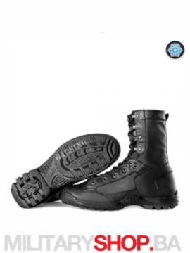 Zimske kožne čizme crne Garsing Air Fleece