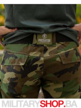 Taktičke maskirne pantalone Predator woodland