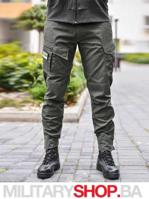 Taktičke pantalone Predator zelene boje