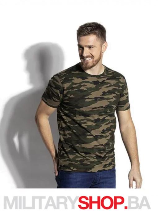 Military kamuflažna majica Woodland maskirna
