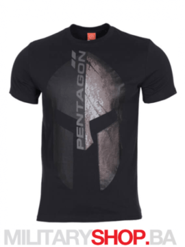 Eternity crna pamučna majica Pentagon