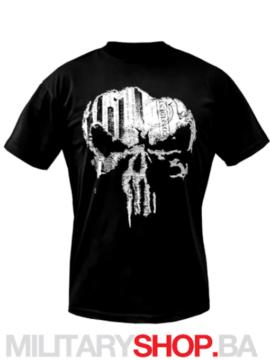 Punisher majica crna boja